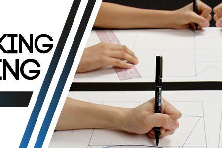 紙樣設計及車縫製作 (裙款)